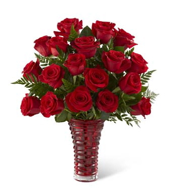 In Love with Red Roses™ Bouquet - Deluxe