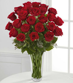 24 Red Roses Arrangement