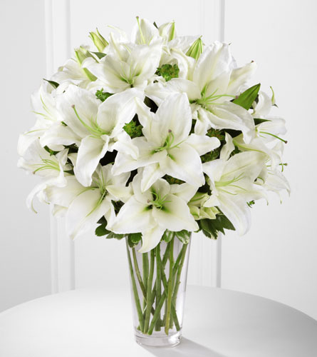 janousek florist any occasion spirited grace lily bouquet b26 4389