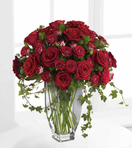 janousek florist red flowers teleflora 39 s rose romanesque bouquet